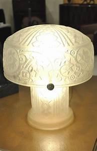 Lampe Art Deco : daum nancy france lamp art deco 1925 1930 ~ Teatrodelosmanantiales.com Idées de Décoration