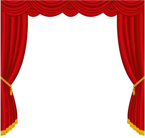 transparent red curtains decor png clipart gallery