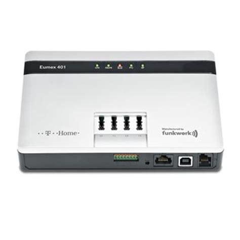 foto de T Home Eumex 401 ISDN TK Anlage mit 4 a/ b Ports und 1 USB