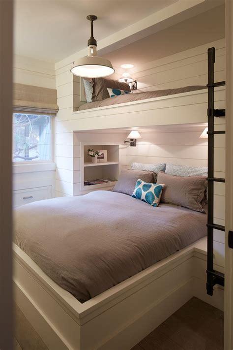 12 Inspirational Examples Of Builtin Bunk Beds  Bunk