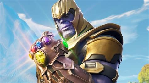 fortnite thanos event     infinity gauntlet