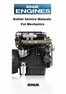 Kohler Engine Service Manuals For Mechanics