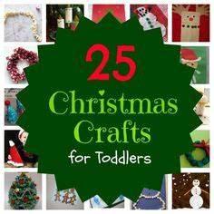 Toddler Christmas Crafts on Pinterest