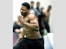 Myles Garrett shines at Texas A&M's NFL pro day Aggie