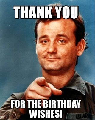 thank you for the birthday wishes meme jpg 319 215 400 pixels funny pinterest