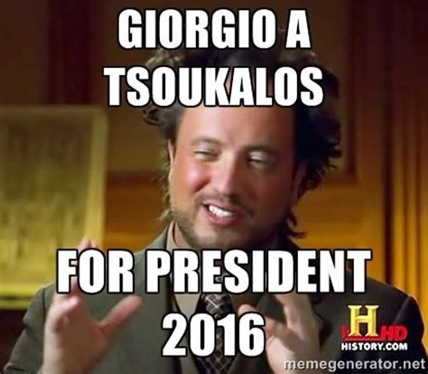 Tsoukalos Meme Generator - giorgio a tsoukalos thank you for everything america