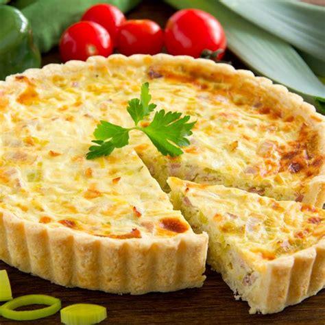 cuisiner poireaux recette tarte à l 39 oignon et au jambon