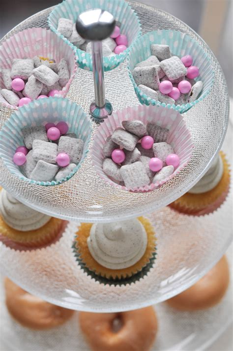 Baby Shower For - an easy baby shower setup plus a chex mix baby