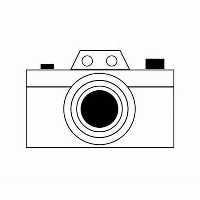 Camera Coloring Pages Printable Cameras Sheets Printables