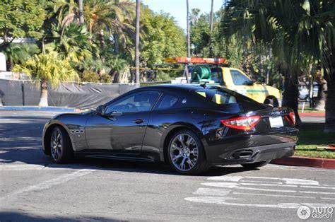 black maserati sports car maserati granturismo sport black