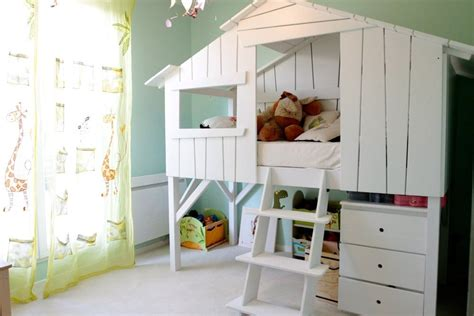 chambre cabane lit cabane enfant anders