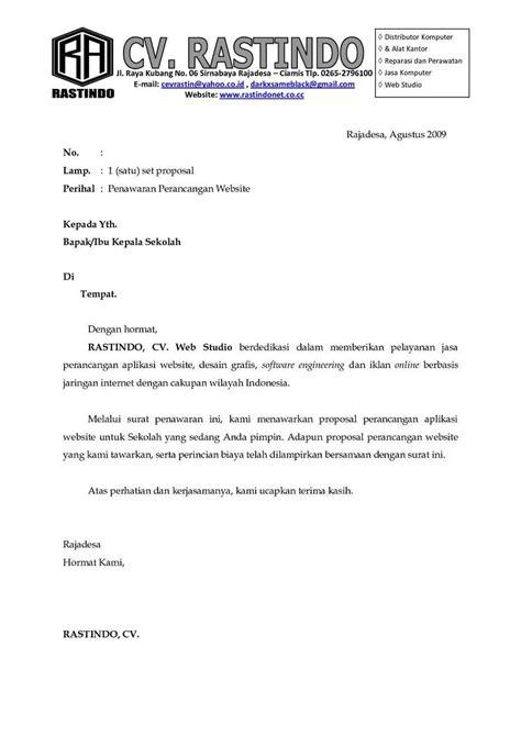 Contoh Surat Permintaan Penawaran Biaya Jasa Pengiriman Barang by Contoh Surat Penawaran Kerjasama Assalam Print