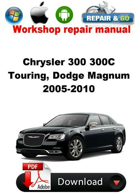 where to buy car manuals 2005 chrysler 300 spare parts catalogs chrysler 300 300c touring dodge magnum 2005 2010 workshop repair manual ebay