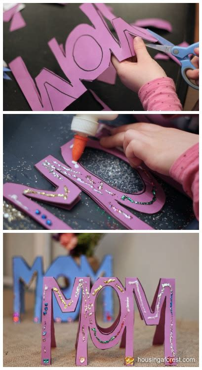 diy mothers day craft project ideas page