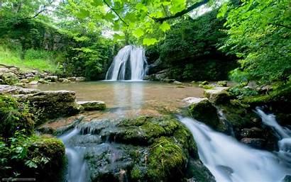 Nature Zen Wallpapers Desktop Waterfall Indian Dales