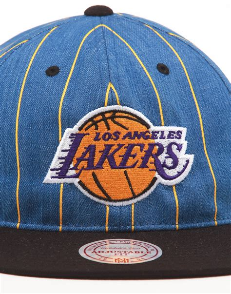 Mitchell & Ness Los Angeles Lakers Low Crown Retro ...