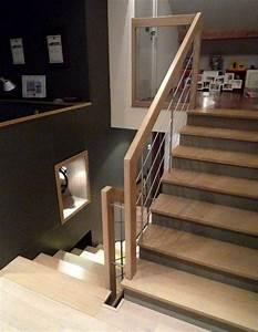 Habillage Escalier Bois : les 28 meilleures images du tableau escalier b ton ou ~ Dode.kayakingforconservation.com Idées de Décoration