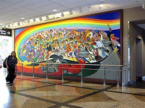 Denver International Airport Murals Pictures by Denver Airport Murals 1 Flickr Photo