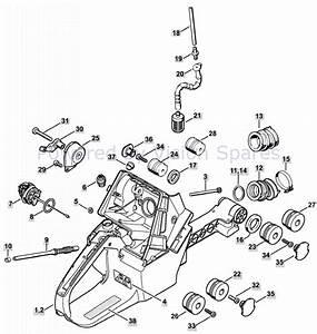 34 Husqvarna 350 Chainsaw Parts Diagram