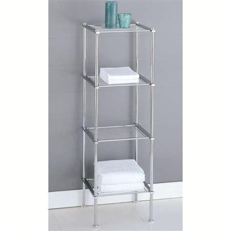 Metal Bathroom Shelf Rack Cosmecol