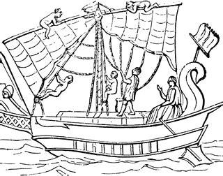 greek boat clipart
