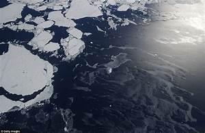 NASA reveals strange pattern in Antarctica's sea ice ...