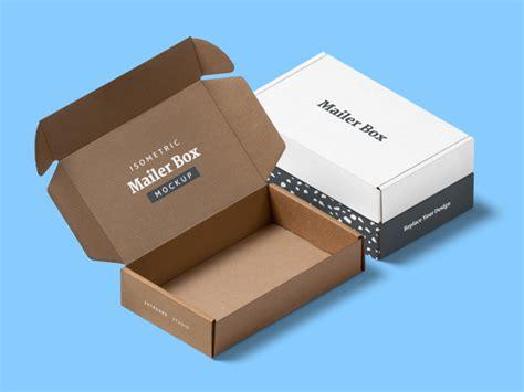 Free box mockups for everyone with this generous freebie! Free Isometric Mailer Box Mockup Scene by Artboard Studio ...