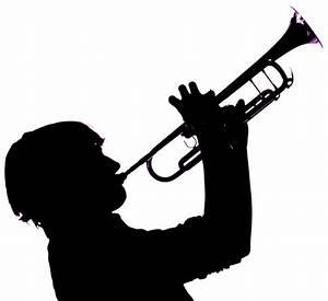 Silhouette Trumpet - ClipArt Best