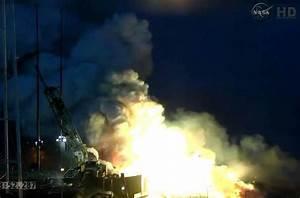 VIDEO: Rocket explodes seconds after liftoff at Wallops ...