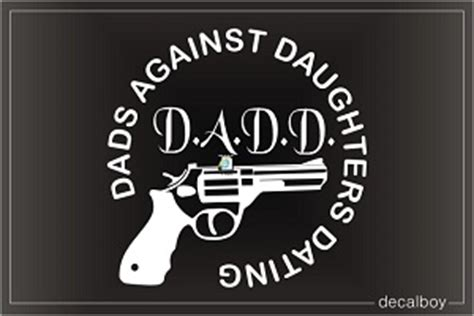 dads  daughters dating decals stickers decalboy