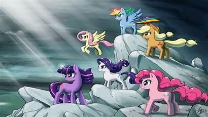 Pony Magic Friendship Desktop Wallpapers Epic Mlp