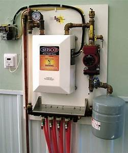 6 Zone Radant Heat Control Panel System Kws Pex Boler