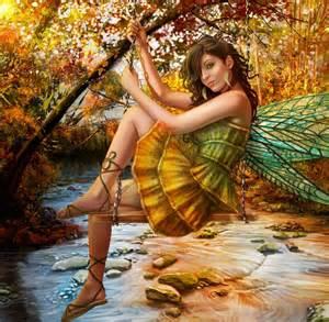 Fall Fairy Wing Wallpaper