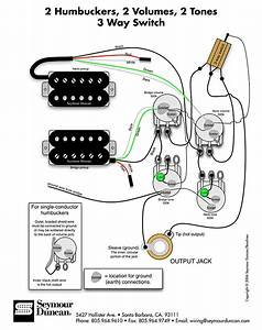Dual Humbucker Wiring Diagram 2 Volume 2 Tone