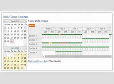Tutorials DayPilot for ASPNET WebForms AJAX Calendar