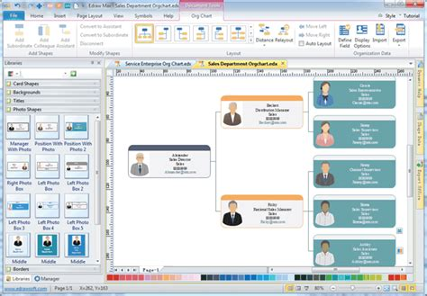 organizational chart software  organizational charts
