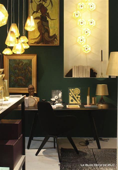 le bureau verte mur vert émeraude bureau le deco de mlc com couleur