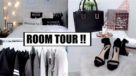 Minimalistic Pinterest Inspired Room Tour!! 2017 Youtube