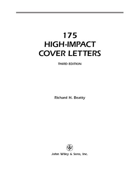 11430 exles of resumes 175 high impact cover letter
