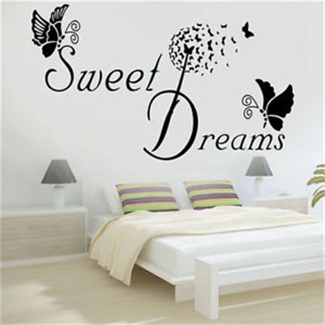 Wall Stickers Quotes Bedroom Ebay