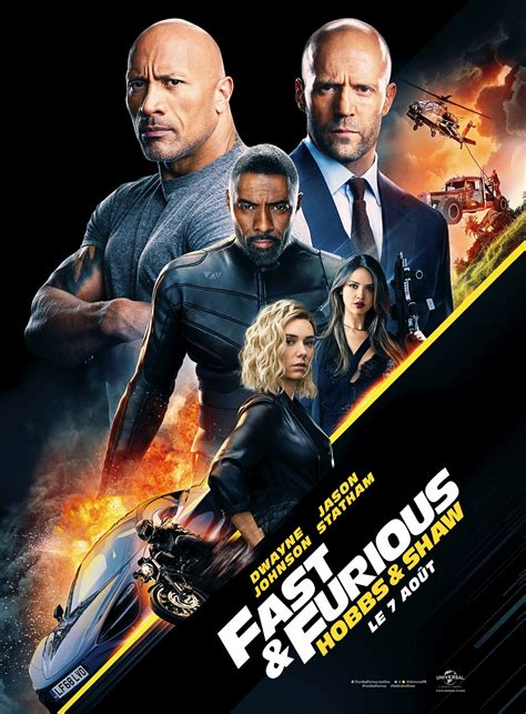 fast furious presents hobbs shaw  poster