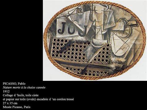 nature morte à la chaise cannée picasso paradigmes et enjeux des arts du xxe siècle ppt