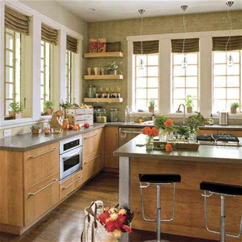 Kitchen Without Upper Cabinets Ideas