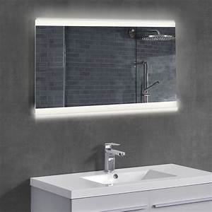 Licht Für Spiegel : led badezimmerspiegel wandspiegel licht spiegel design 50 x 70 cm ~ Markanthonyermac.com Haus und Dekorationen