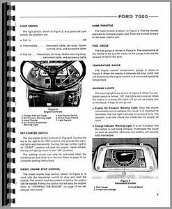 Ford 7000 Operating Manual