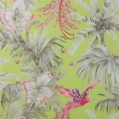 bird  paradise papier peint matthew williamson loulou