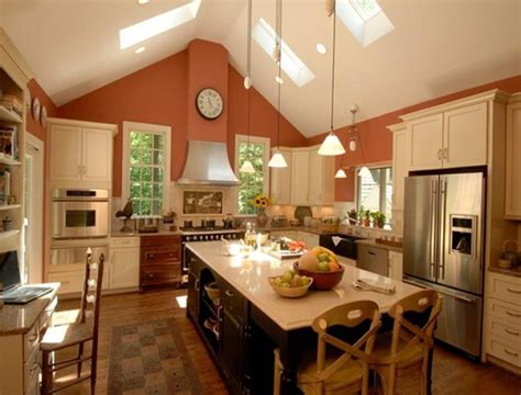 Track Lighting For Vaulted Ceilings Kitchen Pantry Cabinet Canada Lowes Knobs How To Organize Cabinets Above Lighting Towel Holder For Drawer Hardware 42 In Kitchens With Dark