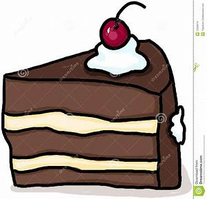 Cake Illustration; Piece Of Cake Drawing Stock Images ...