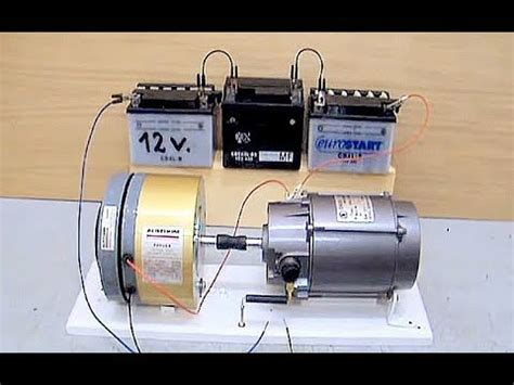 Electric Motor And Generator by Electric Motor Generator Dc