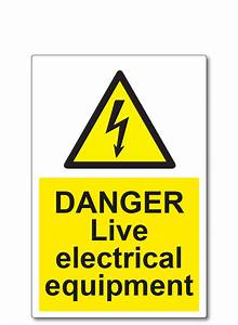 danger live electrical equipment labels With electrical equipment labels